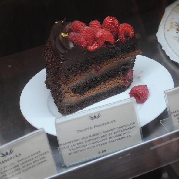 Truffe Framboise @ Extraordinary Desserts