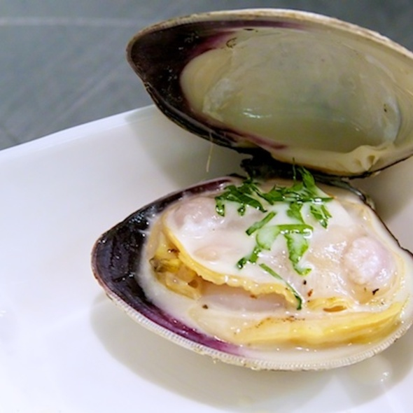 Grilled Clams - SOUTHGATE Bar & Restaurant, New York, NY