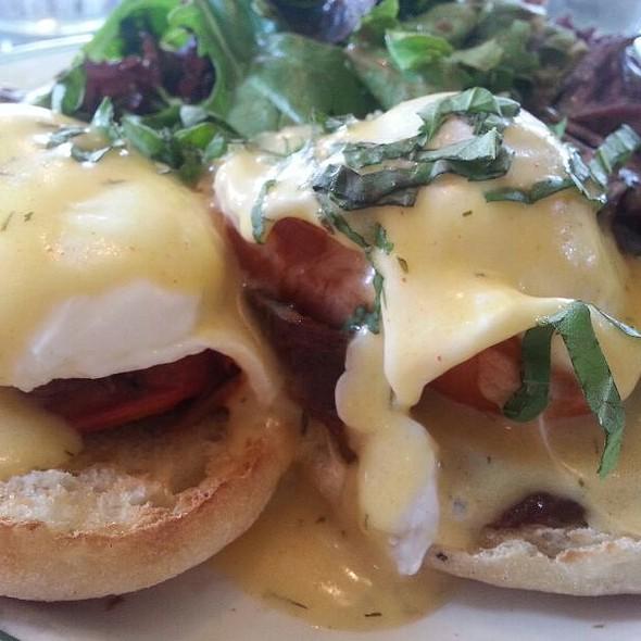 Dylan's Egg Benedict - Americana Restaurant, Del Mar, CA