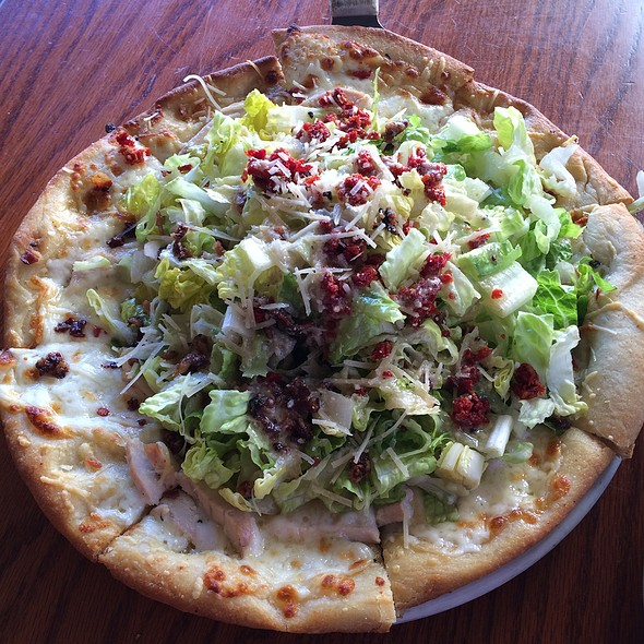 Chicken Caesar Pizza @ Purple Onion