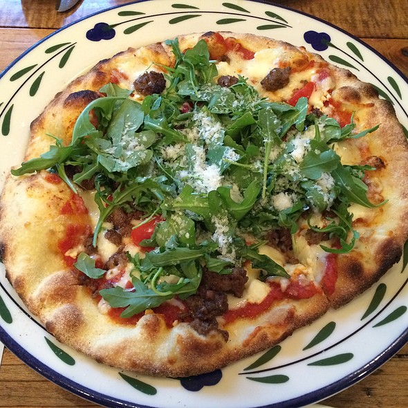 House-Made Lamb Sausage Pizza @ Bistro At Biltmore