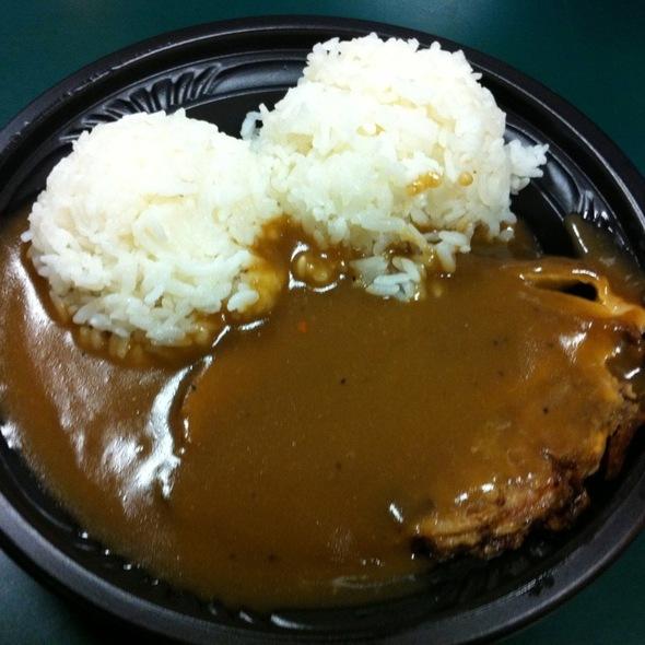 plate lunch/pork roast @ Zippy's Vineyard