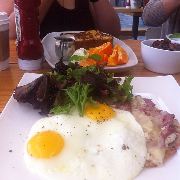 Corned Beef And Sauerkraut And Eggs @ JiST Cafe