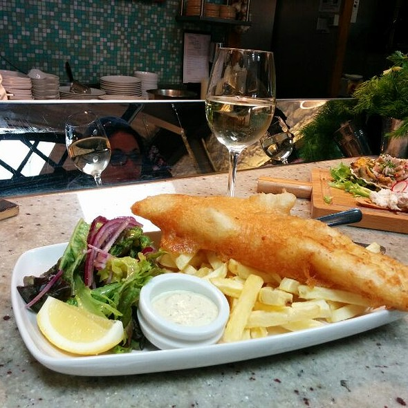 Fish and Chips @ Ivans Oyster Bar and Grill
