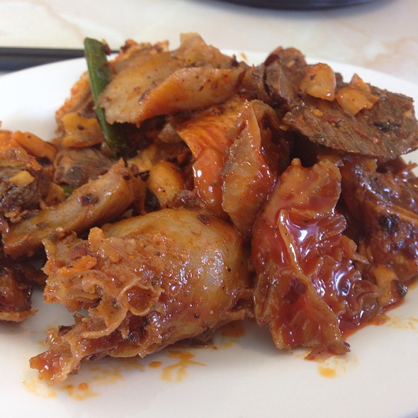 Spicy Beef Tendons, Stomach & Shank
