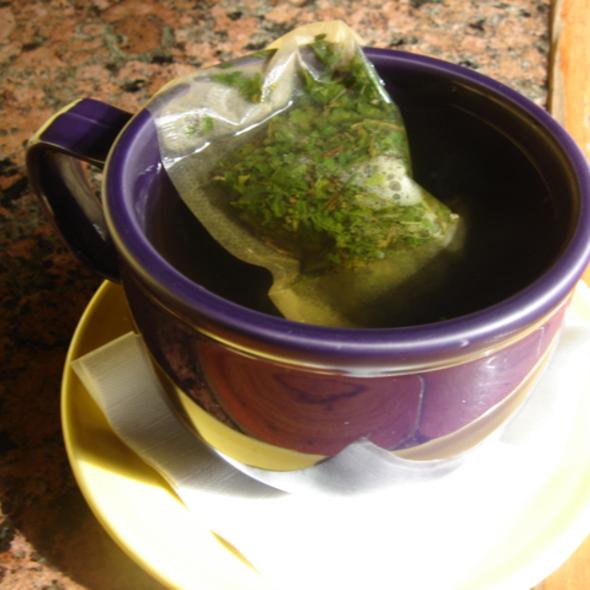 Mint Tea @ Quetzal Internet Cafe