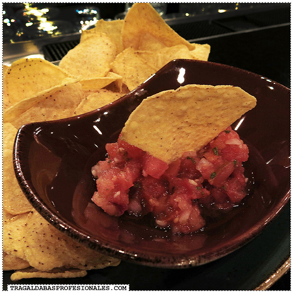 Chips with fresh salsa