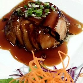 Braised Pork Belly With Fermented Vegetables