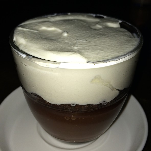 Chocolate Pot De Creme With Coffee And Bourbon