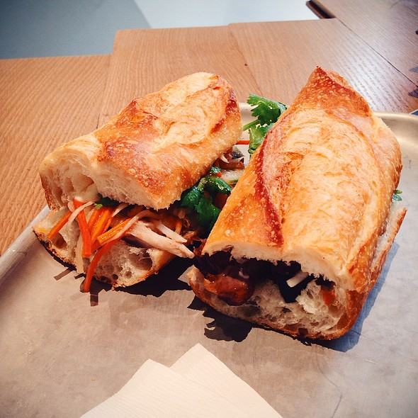 Pork Belly Bahn Mi @ Lucky Pickle