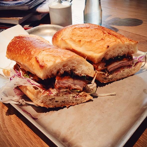 Chicken Katsu Sandwich @ Lucky Pickle