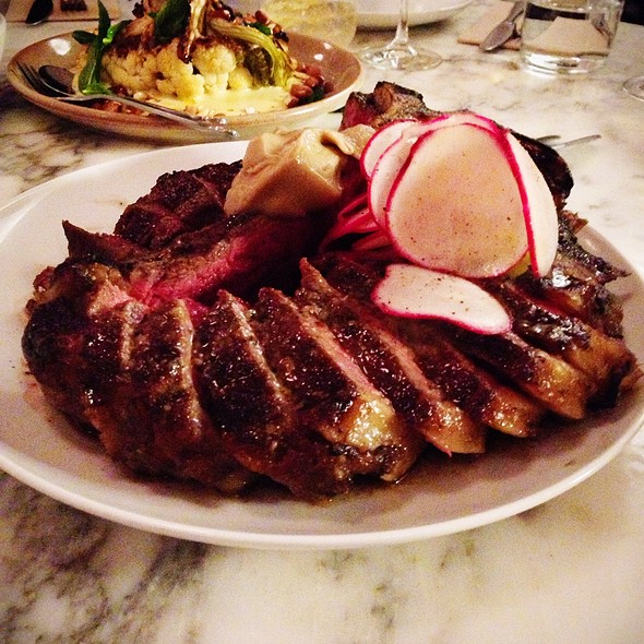 Wood Roasted Steak @ Ester Restaurant And Bar