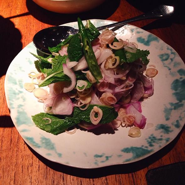 Cured Hiramasa Kingfish Salad @ Nahm @ Metroplitan By COMO