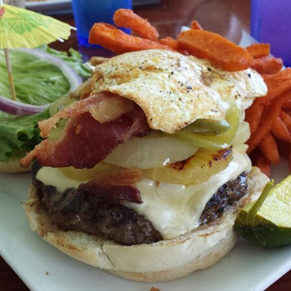 Cheese Burger - Southernmost Beach Cafe, Key West, FL