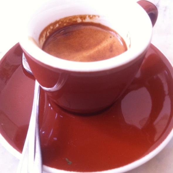 Stumptown Ethiopian Yirgacheffe Espresso @ Cafe Pedlar