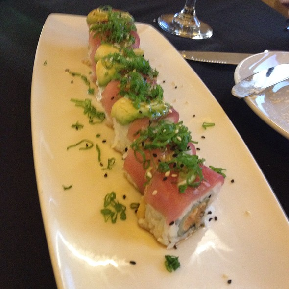 Lime Maguro Roll - Mastro's Steakhouse - Beverly Hills, Beverly Hills, CA