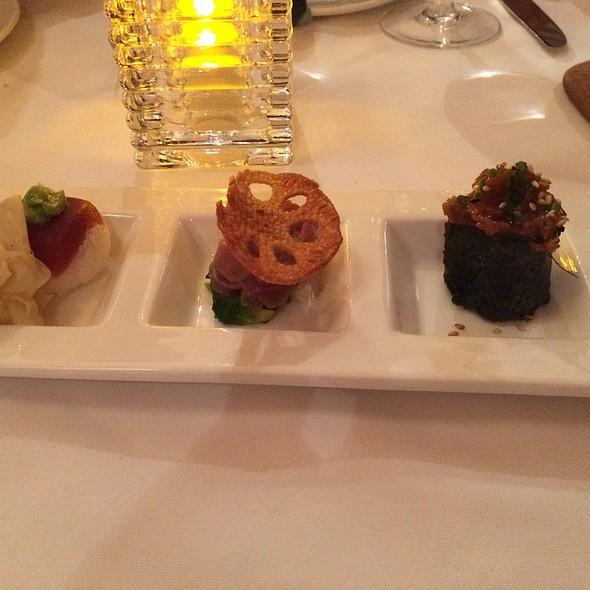 Tuna Sashimi Five Ways