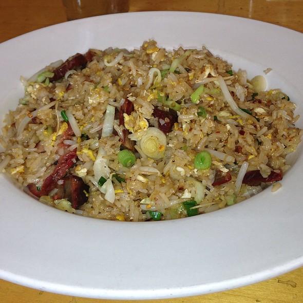 BBQ Pork and Fried Rice