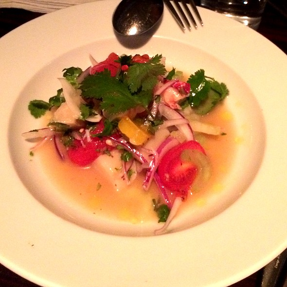 Lobster & Scallop Ceviche @ Oblix at The Shard