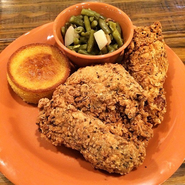 fried chicken @ The Coop A Southern Affair