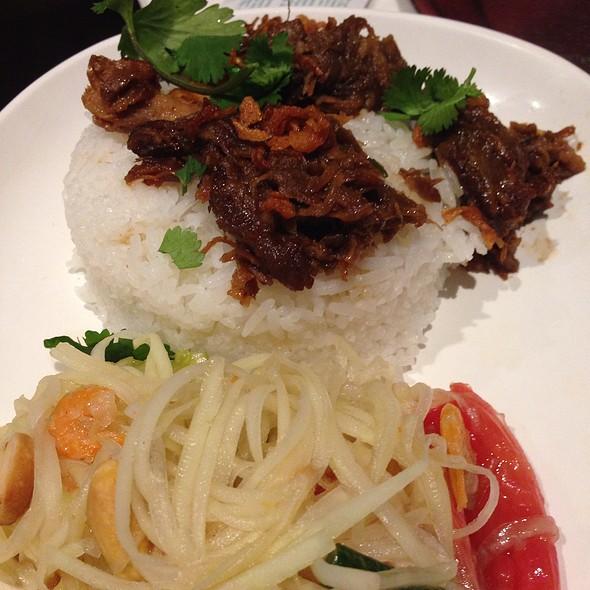 Khao Man Som Tam @ Pok Pok Restaurant