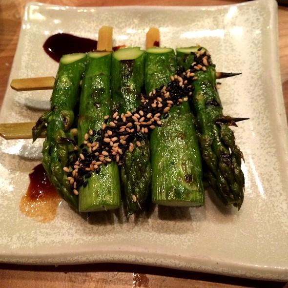 Grilled Asparagus @ Roka