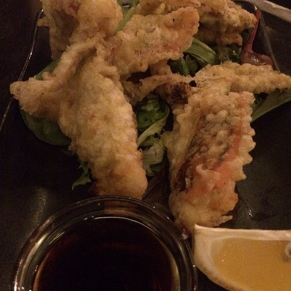 Softshell Crab Tempura - Basho Japanese Brasserie, Boston, MA