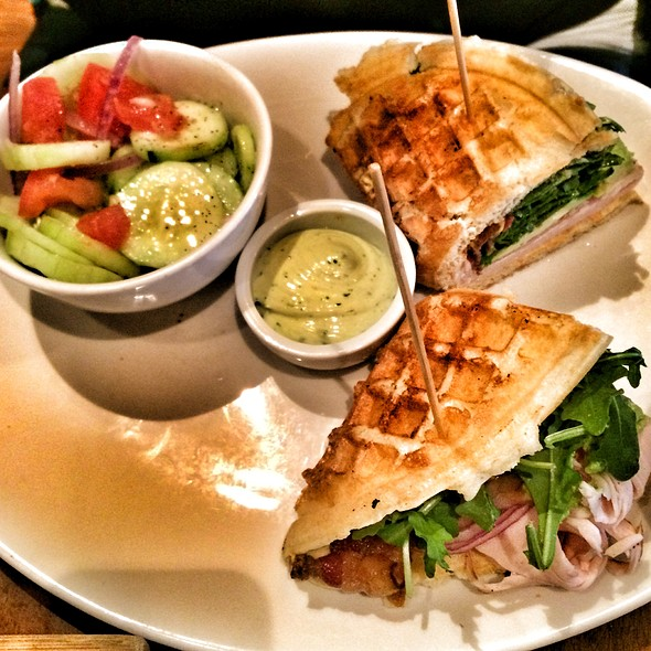 Turkey Club Waffle Sandwich  - Max Brenner - Boston, Boston, MA