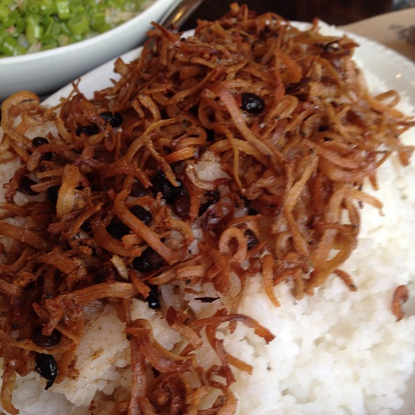 Crispy Dilis Rice