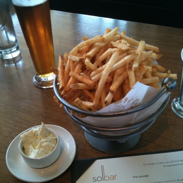 Fries @ Solbar