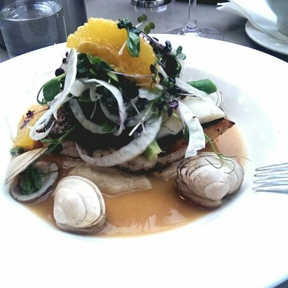 Stonebass With Clams And Fennel Salad @ The Chophouse