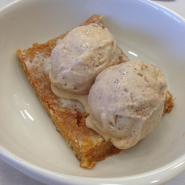 Honey Bars W/ Homemade Cinnamon Ice Cream @ Grayson College Cullinary Arts Restaurant