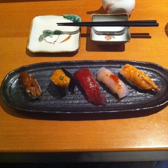 Assorted Sushi Plate  @ Dan Japanese Restaurant