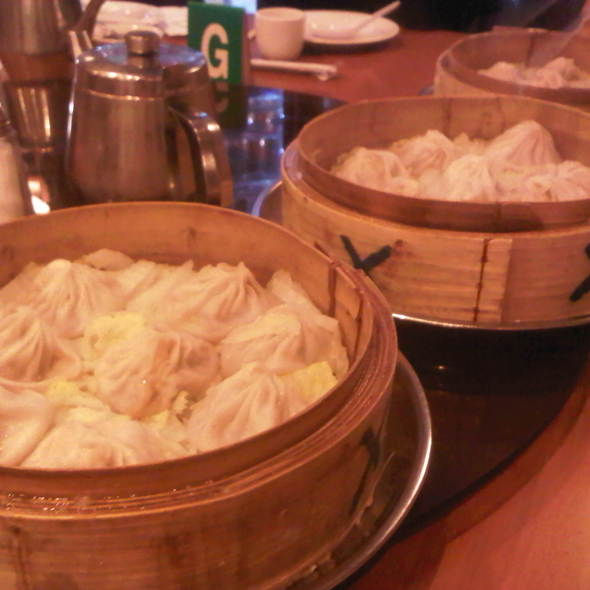 Steamed Soup Dumplings @ Joe's Shanghai Restaurant