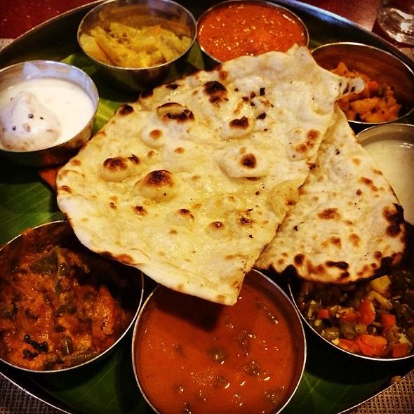 North Indian Thali @ Taj Tristar