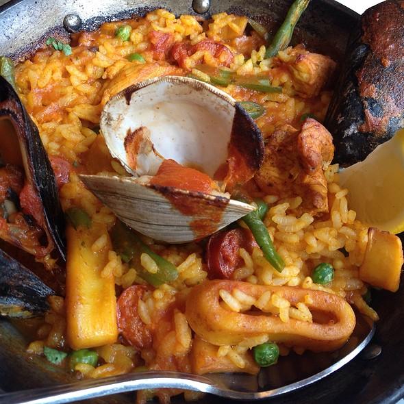 Seafood Paella @ La Tasca