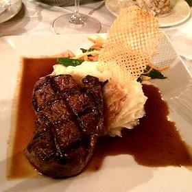 Beef Tenderloin With Cabernet Demi-Glaze