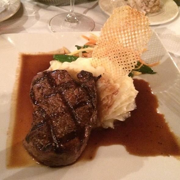 Beef Tenderloin With Cabernet Demi-Glaze - Collage Restaurant, St. Augustine, FL