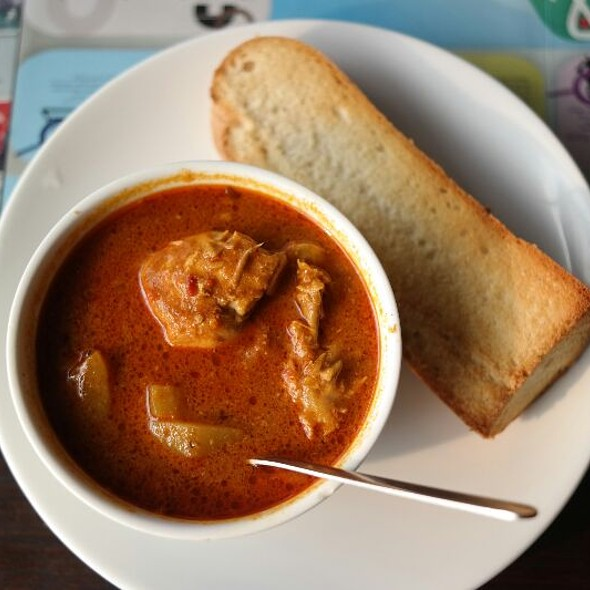 Chicken Curry and Toast @ Bollywood Veggies Pte Ltd