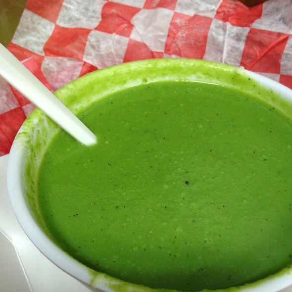 Spring Pea Soup @ Morgans's Lobster Shack And Fish Market