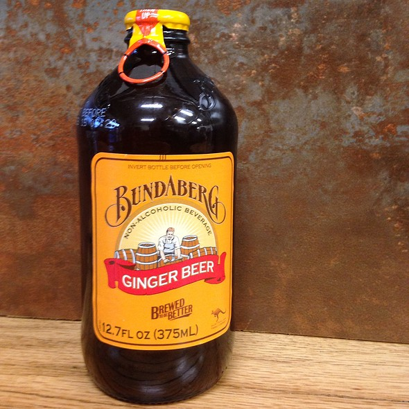 Bundaberg Ginger Beer @ Morgans's Lobster Shack And Fish Market