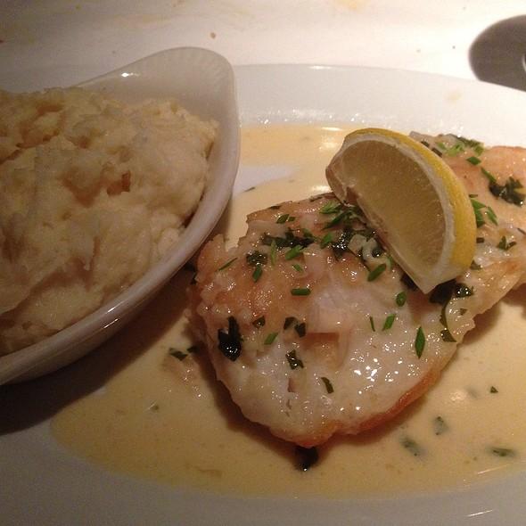 Sea Bass Meuniere - Pete Miller's Seafood and Prime Steak - Evanston, Evanston, IL