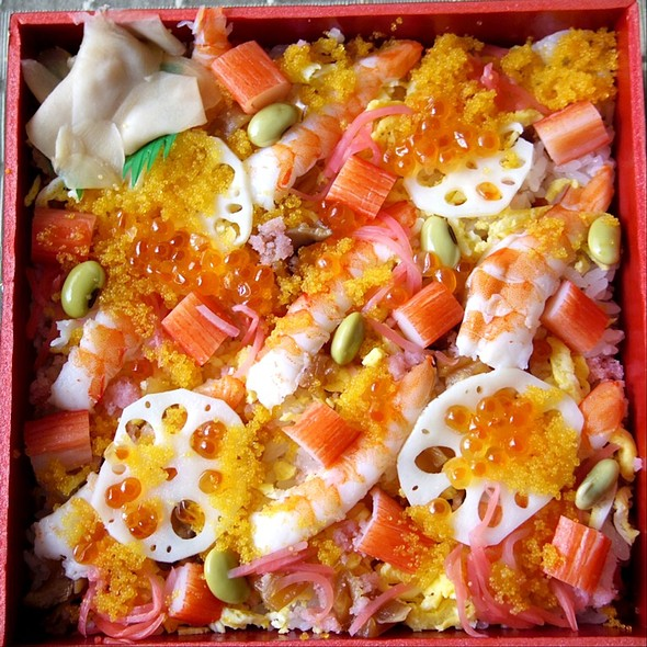 Shrimp Chirashi @ Takashimaya