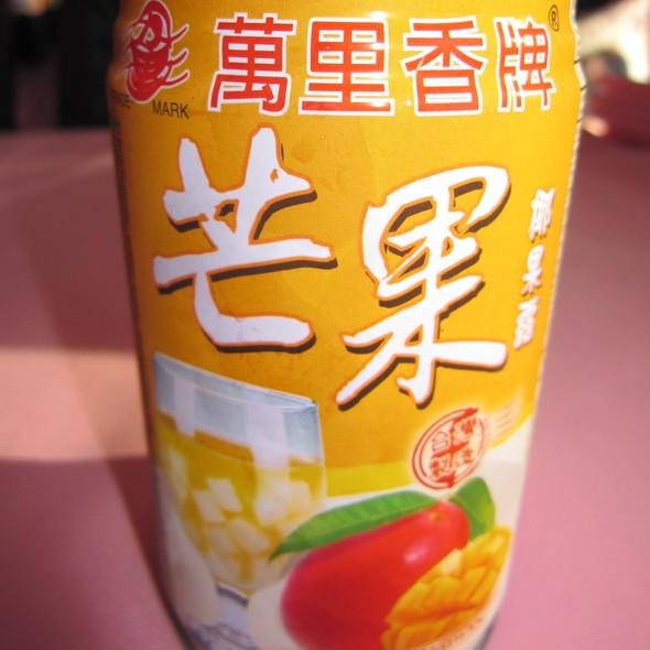 Mango drink @ Shopping Centre Oriental