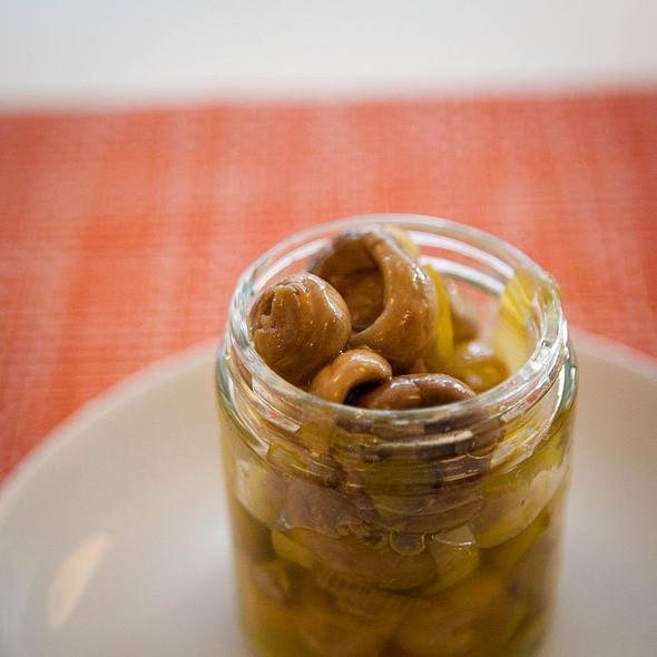 marinated mushrooms & leeks @ Sportello