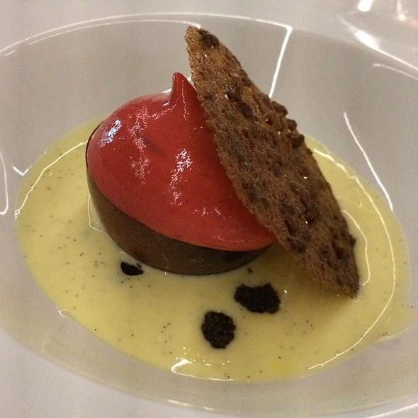 Chocolate And Raspberry @ La Terraza Del Claris Restaurant