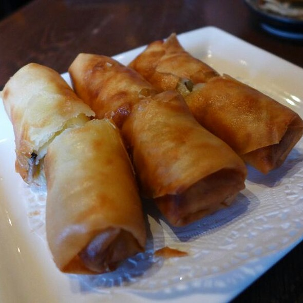 Deep Fried Spring Rolls @ Paradise Dynasty (ION Orchard)