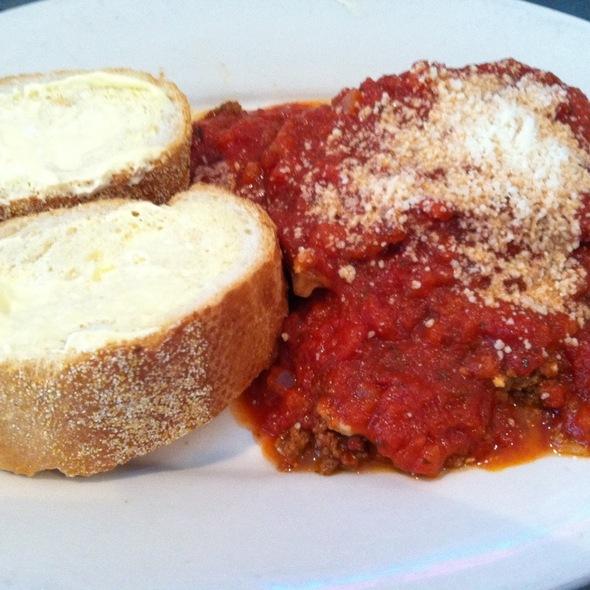 Lasagna Special @ Middleton Sport Bowl LLC