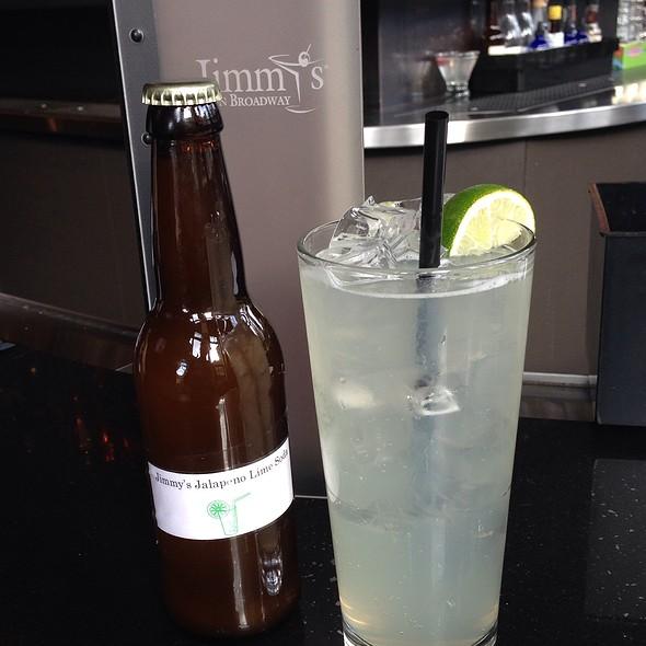 Jimmy's Jalapeño Lime Soda - Jimmy's on Broadway, Seattle, WA