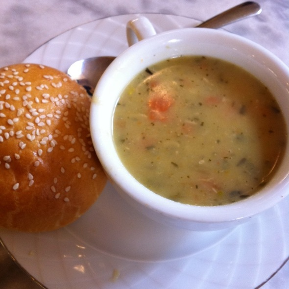 Chicken Pot Pie Soup @ Miel Patisserie